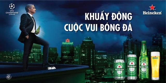 """""""Người đặc biệt"""" cùng Heineken khuấy động cuộc vui bóng đá"""