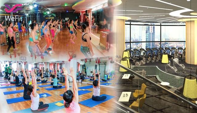Với WeFit Bạn có thể lựa chọn những tên tuổi lớn như Elite Fitness, Lazum3, hay Bharat Yoga