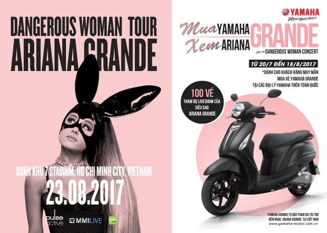 """Mua Yamaha Grande, hội """"cạ cứng"""" quẩy tung đêm nhạc Ariana Grande - 3"""