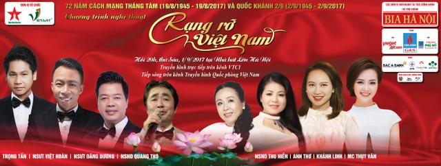 Chương trình nghệ thuật Rạng Rỡ Việt Nam