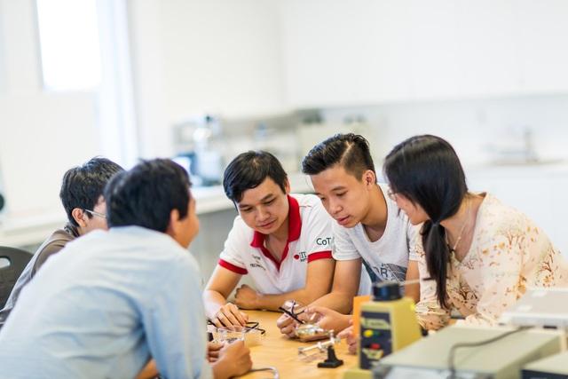 Một giờ học của các kỹ sư tương lai tại RMIT Việt Nam