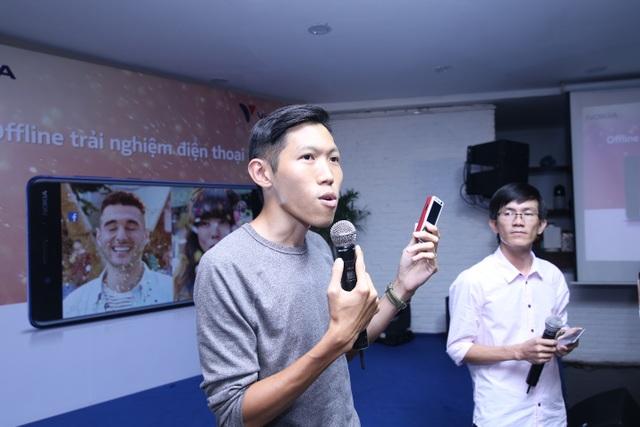 Tại buổi offline, khách mời và người dùng không chỉ giao lưu, chia sẻ những trải nghiệm của họ về các dòng điện thoại Nokia mới nhất như Nokia 3310, Nokia 3, Nokia 5, Nokia 6, Nokia 8 mà còn cùng nhau gợi lại những kỉ niệm và các sản phẩm Nokia trước đây.