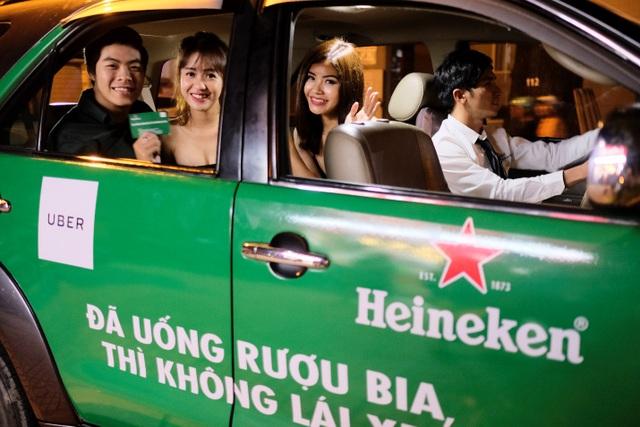 Về nhà an toàn cùng trải nghiệm hàng đầu Heineken Greenride