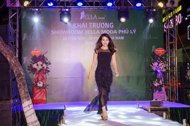 Á hậu doanh nhân Trần Ngọc Lan trở thành đại sứ thương hiệu thời trang Bella Moda - 3