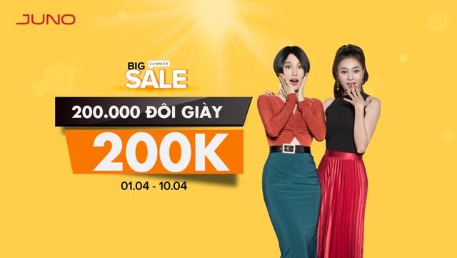 Chương trình khuyến mãi Big Summer Sale đang nhận được quan tâm của đông đảo phụ nữ Việt.