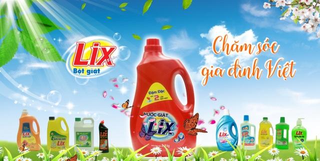 (Các sản phẩm mang thương hiệu LIX)
