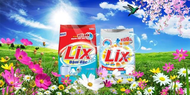 (Bột giặt LIX đậm đặc và LIX extra)