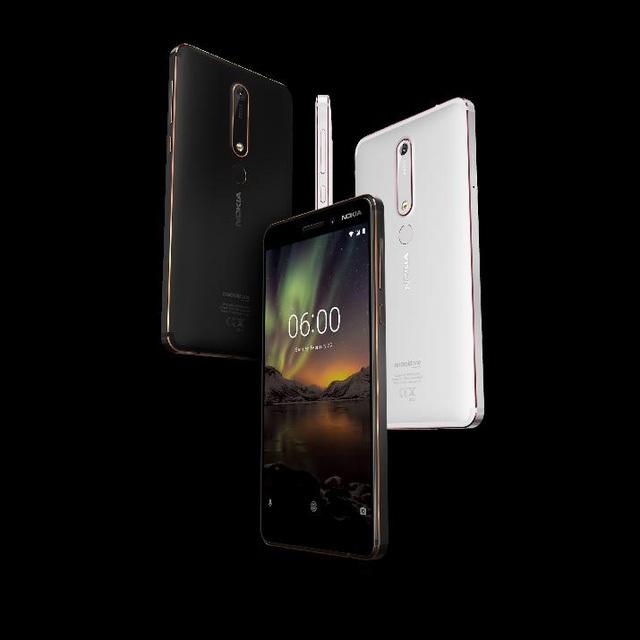 Nokia 6 mới - Với tốc độ được cải thiện nhanh hơn 60% so với phiên bản tiền nhiệm, Nokia 6 mới được cập nhật thêm tính năng Dual-sight, ống kính ZEISS, tính năng sạc nhanh thông qua USB-C, tỷ lệ màn hình nhỏ gọn hơn với âm thanh đa chiều của Nokia cùng hệ điều hành Android OreoTM nguyên bản, bảo mật và cập nhật nhanh chóng.
