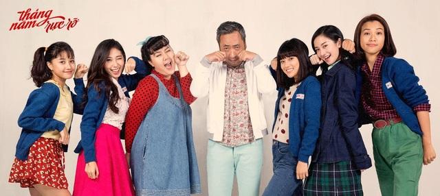 Gold Winners Sulli và Rôn Vinh du hí Hàn Quốc cùng đoàn phim Tháng năm rực rỡ - 2