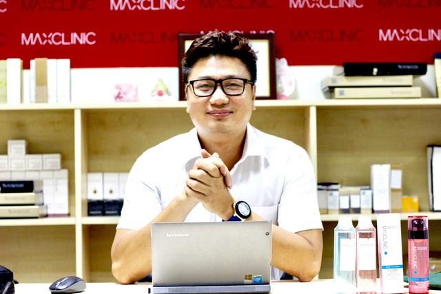 Ông Nguyễn Mai Hòa GĐKD Maxclinic Viêt Nam
