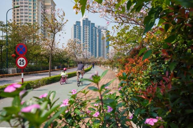 Con đường sinh thái Eco – Path dài 7km dành riêng cho người xe đạp và người đi bộ