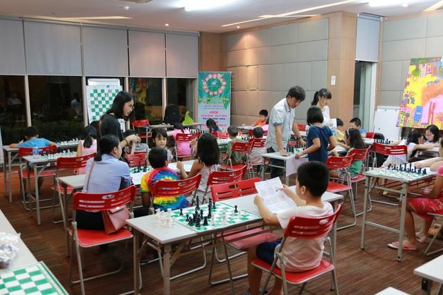 Lớp học chơi cờ trong chuỗi hoạt động Ciputra Summer Fun 2018