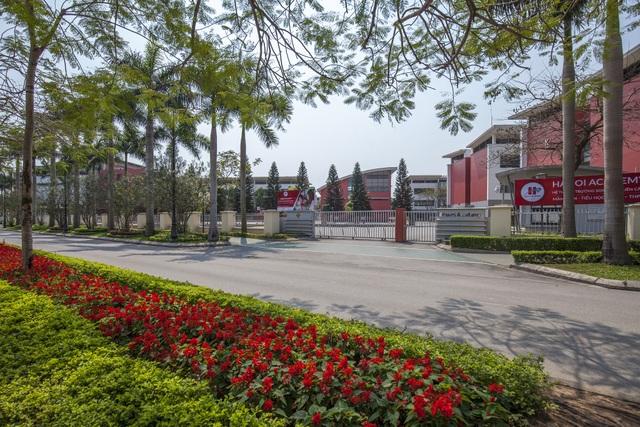 Trường Song Ngữ Quốc tế Ha Noi Academy nằm bên trong khuôn viên Ciputra