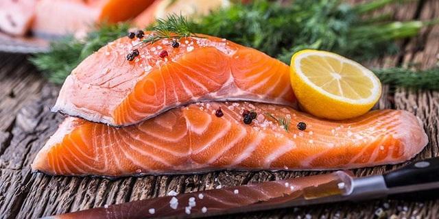 Cá hồi là món ăn ưa chuộng tại Nhật Bản (Ảnh minh họa).