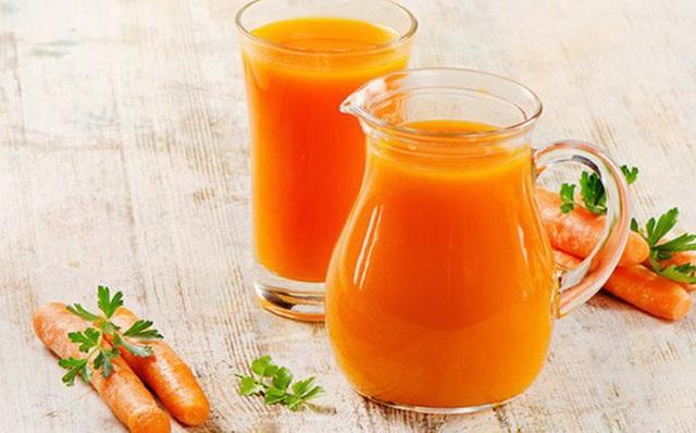 Nước ép cà rốt (Ảnh minh họa)