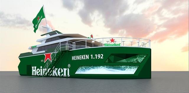 Chuyến tàu viễn dương cùng Heineken đã sẵn sàng chào đón hàng nghìn tín đồ đất Cảng tham gia trải nghiệm trong 2 ngày 15-16/09 sắp tới.