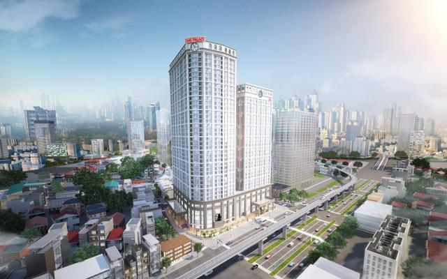 King Palace tọa lạc tại khu vực có tốc độ phát triển kinh tế năng động nhất Hà Nội