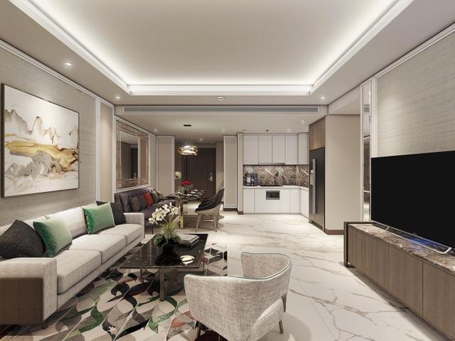 Thiết kế nội thất hiện đại, giàu tính nghệ thuật để đề cao gu thẩm mỹ của chủ nhân