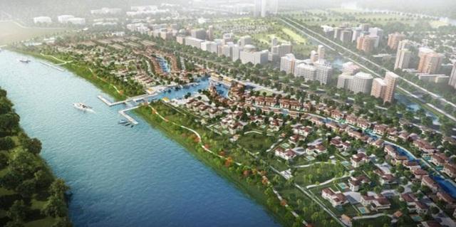 Khu đô thị Waterpoint được chính thức khởi công vào tháng 6/2018