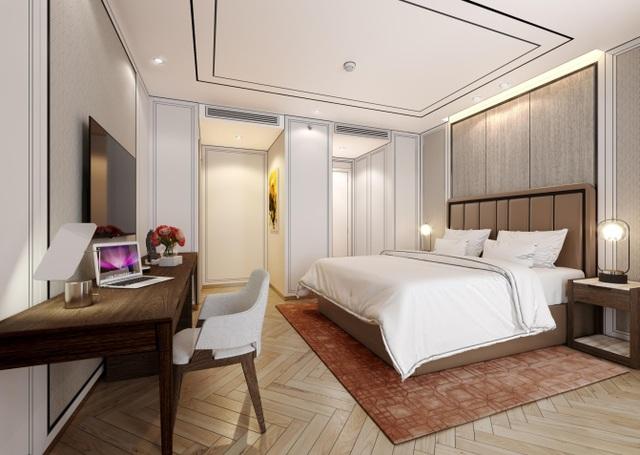 Thiết kế nội thất mang màu sắc hiện đại, được trau chuốt tỉ mỉ để đề cao gu thẩm mỹ của chủ nhân
