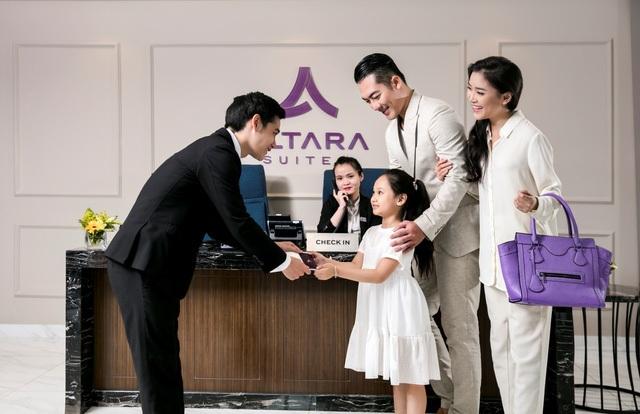 Dịch vụ chuẩn quốc tế tại Altara Suites cũng là một điểm cộng đáng để các gia đình lựa chọn