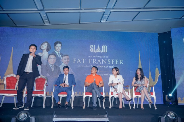 Chuyên gia chia sẻ tại hội thảo làm đẹp lớn nhất Tp.Hồ Chí Minh