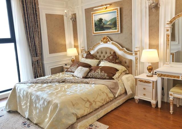 Phòng ngủ sang trọng và ấm áp