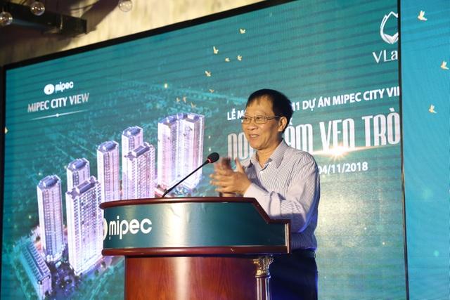 Ông Nguyễn Duy Tưởng, PTGĐ Công ty Cổ phần Hóa dầu Quân đội – Mipec phát biểu khai mạc tại buổi lễ