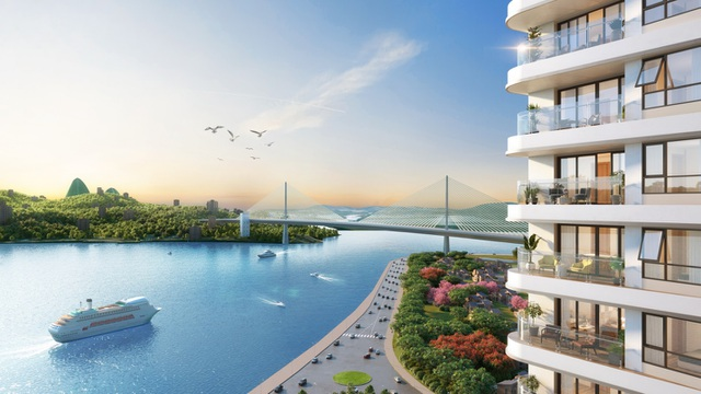 360 độ quanh dự án đều là những cảnh quan đẹp mang đến trải nghiệm lý tưởng cho kỳ nghỉ dưỡng