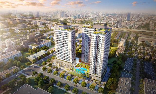 Hình ảnh phối cảnh dự án Rivera Park Hà Nội