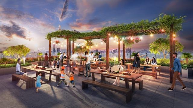 Phối cảnh tiện ích dự án Rivera Park Hà Nội