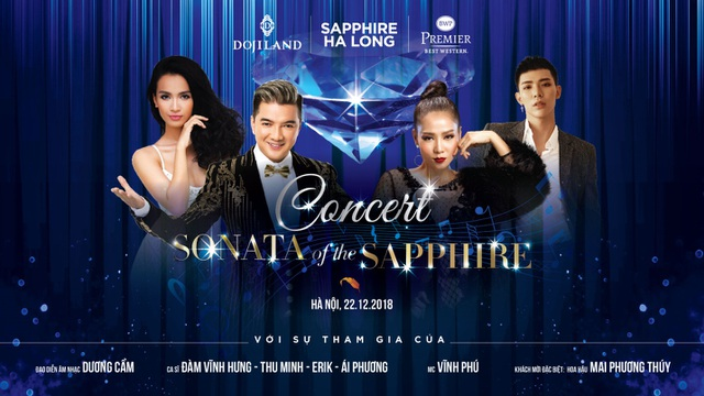"""Lễ ra mắt dự án lấy chủ đề """"Sonata of the Sapphire"""", được tổ chức dưới hình thức một buổi nhạc kịch hoành tráng."""