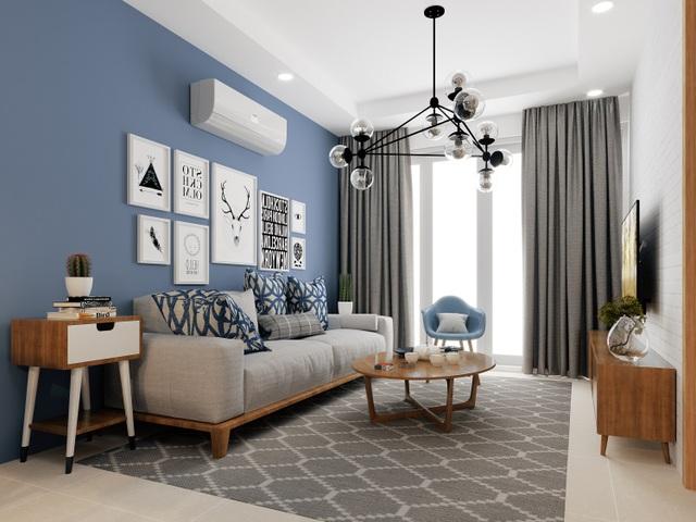 Căn hộ 2PN tại Mipec City View được thiết kế thông minh, tối ưu không gian sử dụng