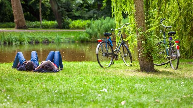 Người châu Âu ưa chuộng lối sống thân thiện với môi trường và giao hòa cùng thiên nhiên