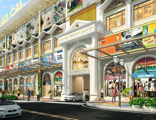 Chợ Du lịch Lào Cai sau khi hoàn thiện hứa hẹn thay đổi diện mạo cho Thành phố Lào Cai
