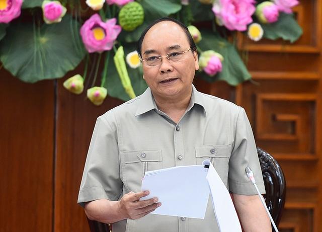 Thủ tướng cho rằng trong nguy cơ, thách thức của biến đổi khí hậu, Bạc Liêu đã tìm ra thời cơ để phát triển (ảnh: VGP)