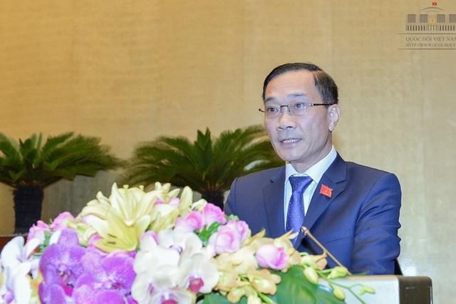 Chủ nhiệm Ủy ban kinh tế của Quốc hội Vũ Hồng Thanh (Ảnh: Quochoi.vn)