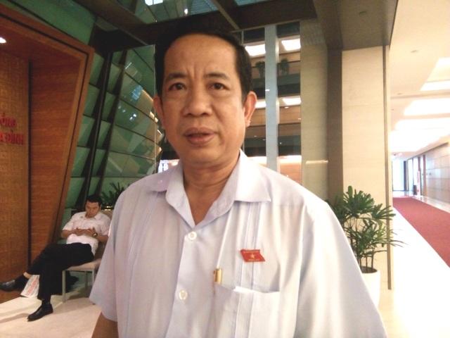 Đại biểu Đặng Thuần Phong, Phó Chủ nhiệm Uỷ ban Về các vấn đề xã hội của Quốc hội (Ảnh: Bích Diệp)