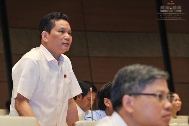 Đại biểu Bùi Sỹ Lợi (ảnh: Quochoi.vn)
