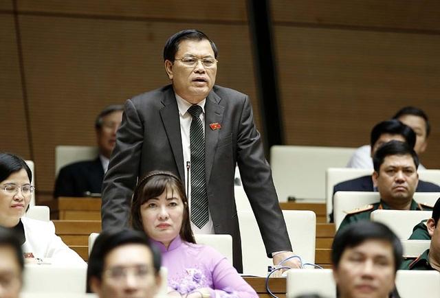 Chủ tịch Tasco Phạm Quang Dũng, đại biểu tỉnh Nam Định (ảnh: Hoàng Long)