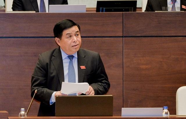 Bộ trưởng Bộ Kế hoạch và Đầu tư Nguyễn Chí Dũng (ảnh: Quochoi.vn)