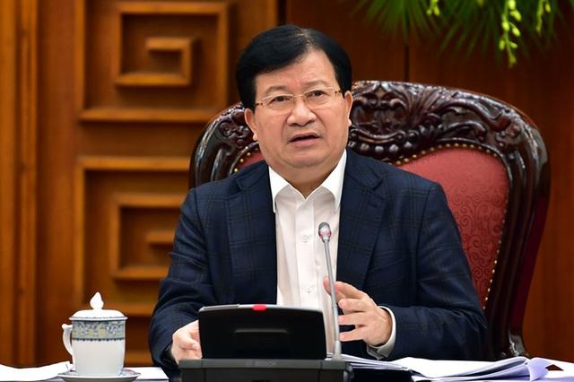 Phó Thủ tướng Trịnh Đình Dũng chỉ đạo tại cuộc họp (ảnh: VGP)
