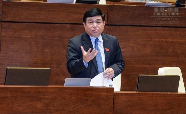 Bộ trưởng Nguyễn Chí Dũng khẳng định sẽ tiếp thu ý kiến đóng góp của các đại biểu Quốc hội về dự án luật