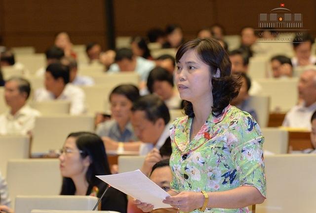 Đại biểu Trần Thị Hằng:Con số quy hoạch hàng năm quá lớn, làm tốn ngân sách hàng ngàn tỷ đồng