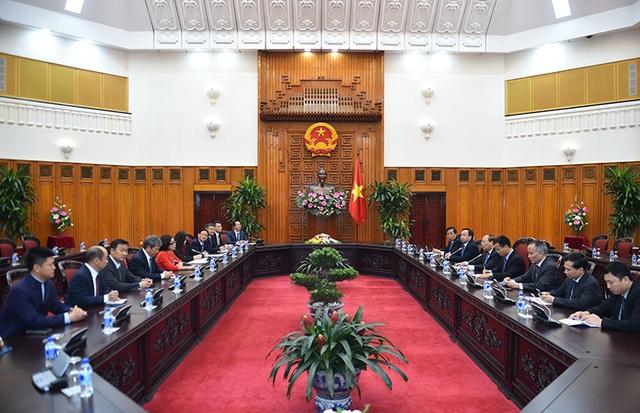 """Thủ tướng nhấn mạnh tinh thần các bên """"cùng thắng"""" khi doanh nghiệp nước ngoài đầu tư tại Việt Nam"""