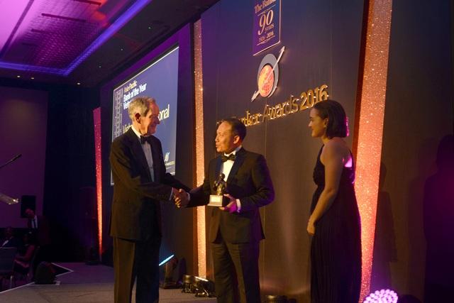 Đây là lần thứ hai liên tiếp VIB nhận giải Bank of the Year của The Banker