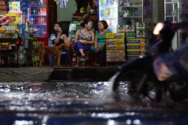 Đỉnh triều trong chiều tối 17/10 tại các trạm có khả năng đạt mức như sau: Tại trạm Phú An (sông Sài Gòn) và trạm Nhà Bè (kênh Đồng Điền) có khả năng lên mức 1,63–1,68 m (cao hơn báo động 3 từ 0,13–0,18m), thời gian xuất hiện đỉnh triều trong ngày từ 5–7h và từ 17–19h.