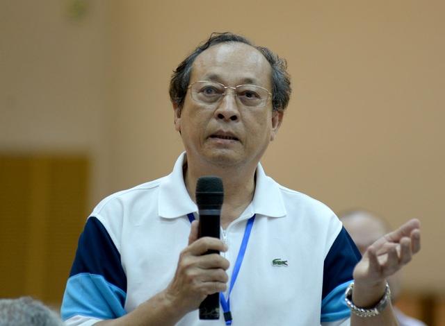 Tiến sĩ Trần Văn Bình (Việt kiều Liên bang Đức) mong muốn đóng góp cho đất nước.