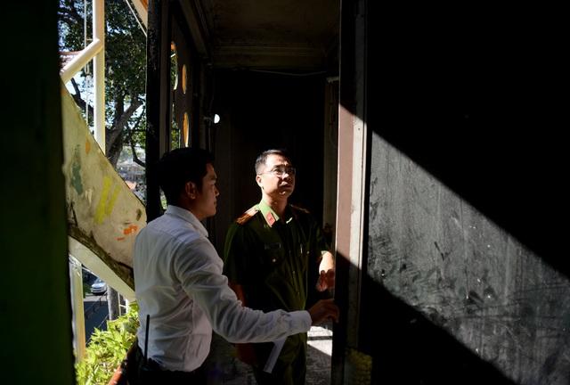Ông Nguyễn Đức Vinh khuyến cáo thêm, không được để xe máy chắn lối trên và trước đường thoát hiểm.