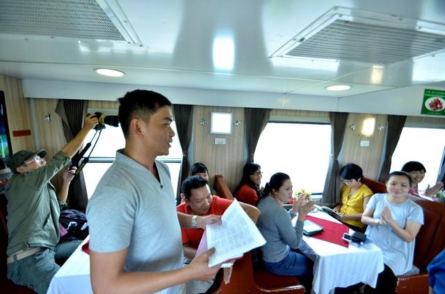 Trên các toa tàu cần thiết kế nhiều hơn các hoạt động sinh hoạt, vui chơi, giải trí...trong các tour du lịch nhằm kích thích du khách trải nghiệm.